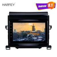 Harfey car multimedia player for 2009 2014 Toyota ALPHARD(Vellfire ANH20) 8 Android 8.1 Radio GPS Navi with Mirror Link DVR SWC