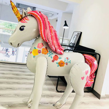 3D Unicorn Party Balloon Decoration Large Birthday Baby Shower Wedding