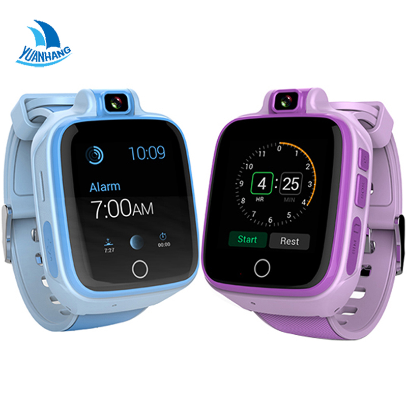YH Remote Camera GPS WIFI Location 1.54 Touch Screen Kid Child Student 4G Smart Wristwatch SOS Call Monitor Tracker Alarm Watch