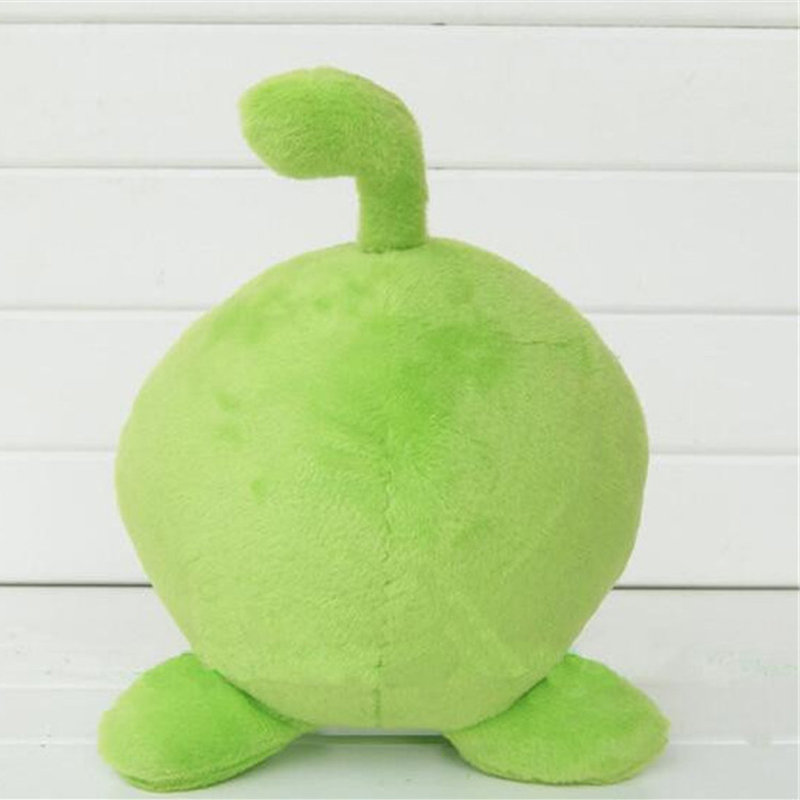 AUTOPS 720cm rubber cut the rope figure classic toys game om nom frog plush kawaii toys cut the rope Soft lovely gift for kids