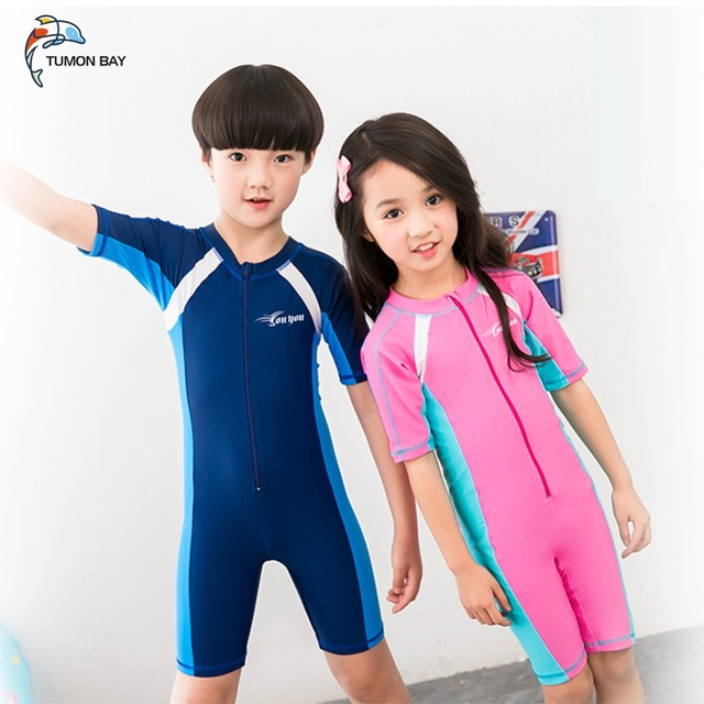 d2a34b4009 swimsuit kids One Piece Boys Girls Swimsuits Kids Bathing Suits Baby  Swimsuit Girl Children Beach Wear Diving Swimming Suit