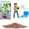 Abbyfrank 5000 piezas de cristal Color suave de bala pistola de Paintball bala Orbeez pistola juguete Bibulous Air Pisol para pistola de juguete para niños