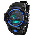 OHSEN Brand Hours Digital Led Watch Men's Clock Quartz Watch Military Sport Casual Wristwatches