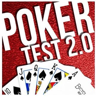2014 The Poker Test 2.0 By Erik Casey -Magic Tricks