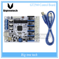 3D printer control board GT2560 Support Dual Extruder Power Than ATmega2560 Ultimaker