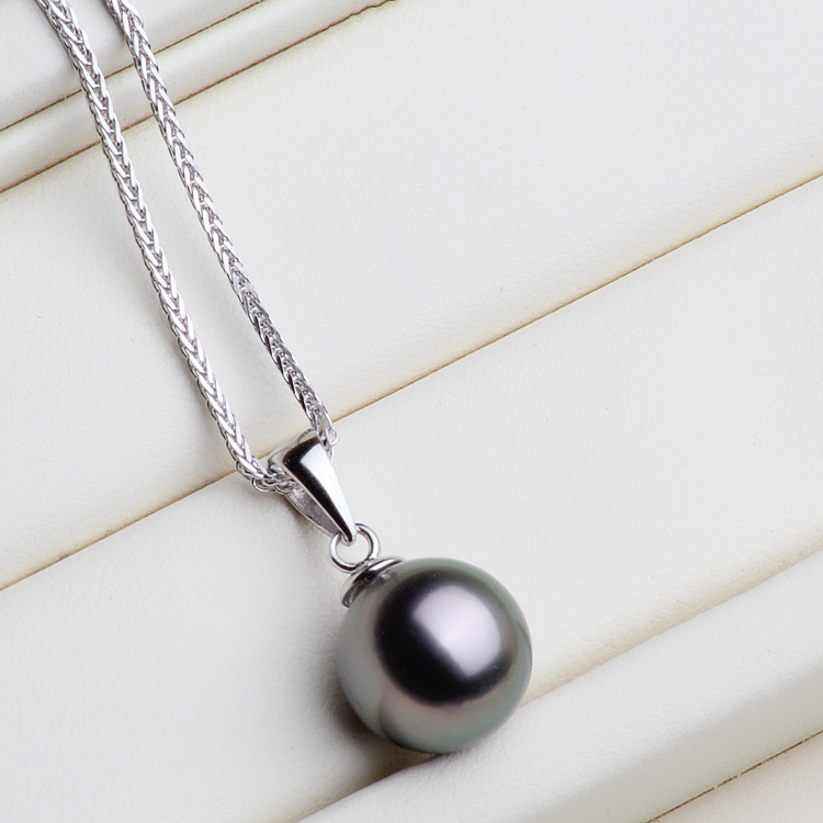 DIY Accessory S925 Sterling Silver Pendant Holder Classic Bigger Pearl Pendant Jewelry Finding Components 20Pcs Lot