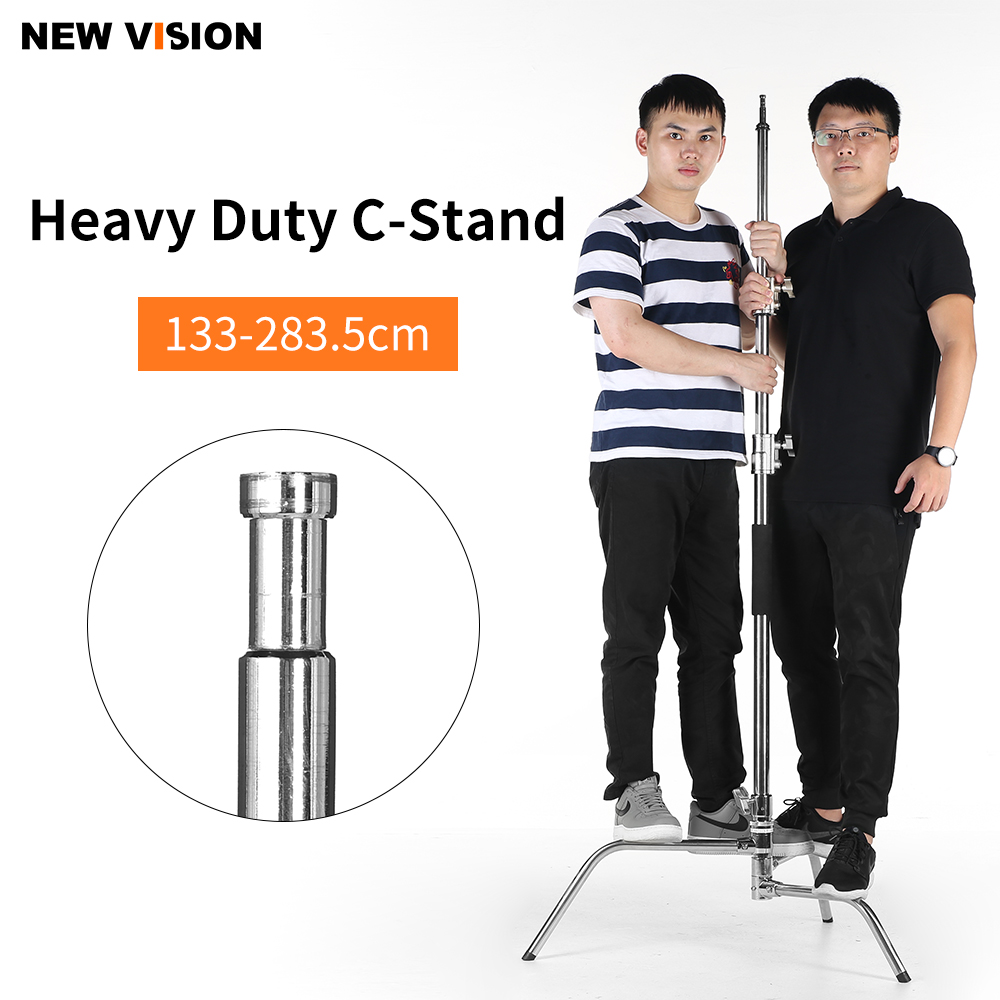 Upgrade Stainless Steel Heavy Duty C Stand 4 3 9 3 feet 1 3 2 83