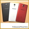 Original New Rear Battery Door For Lenovo K80 K80M Housing Back Cover Mobile Phone Parts +Logo, Red/Black/White