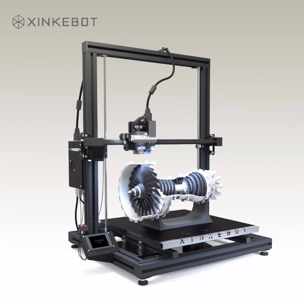 Large 3D Printer 410x410mm Heated Bed Custom Surface Xinkebot Orca2 Cygnus High Quality 3D Printer Optional