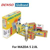 DENSO Car Spark Plug For MAZDA 5 2.0L Ford S Max 2.3L Focus 1.6L Chevrolet Camaro3.6L Volvo S60 V60 Iridium ITL20|plug for car|plug spark|plug l -