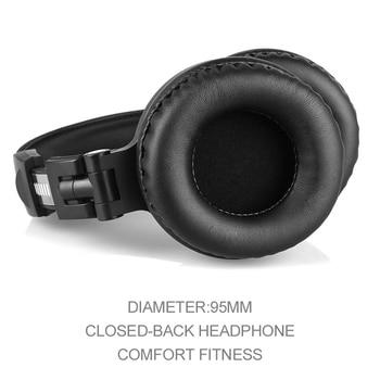 Oneodio Professional Studio Headphones DJ Stereo Headphones Studio Monitor Gaming Headset 3.5mm 6.3mm Cable For Xiaomi Phones PC 5