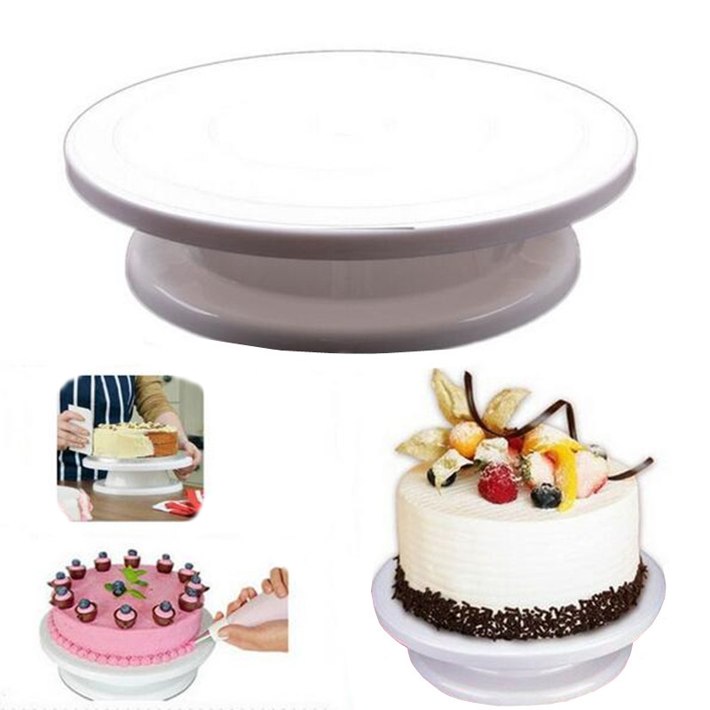 Cake Making Turntable Rotating Cake Stand Sugar Craft Decorating