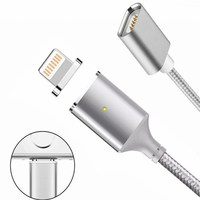 2 4A Magnetic Micro USB Charger 1m Date Cable For IPhone 7 5s 6 6s Plus