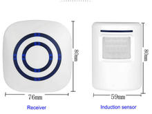 PIR Sensor Wireless Doorbell LED Lights With 38 Songs Music