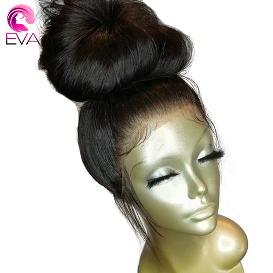 Eva Hair Pre Plucked Full Lace Human Hair Wigs With Baby Hair Natural Wave Brazilian Remy Hair Wigs Natural Hairline 8-24