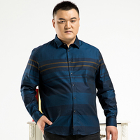 10XL 8XL 6XL 5XL 4XL Men Shirt Brand 2017 Male Large Size Long Sleeve Shirts Casual