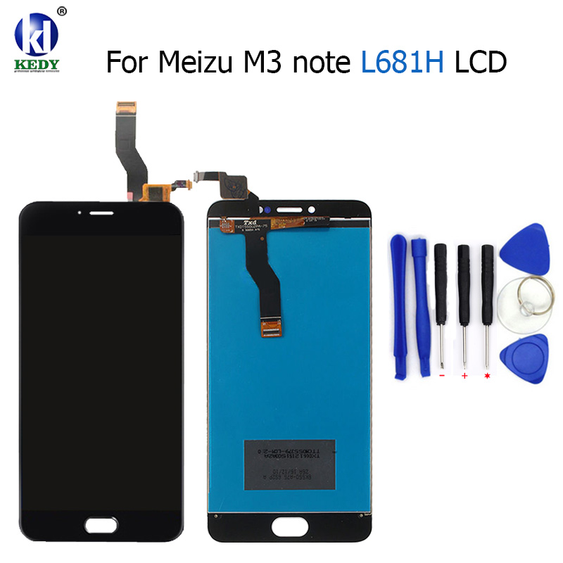 For L681H m3 note LCD Display+Digitizer Touch Screen