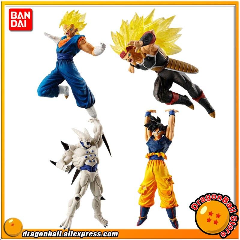 Bandai Dragon Ball Z Super HG 03 Vol.3 Chapter of Freeza Gashapon Set of 4