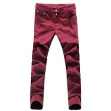 2017 новый мужской моды досуг прямые джинсы мужские брюки высокое качество 100% хлопок мужские тонкие джинсы случайные брюки брюки мужчины