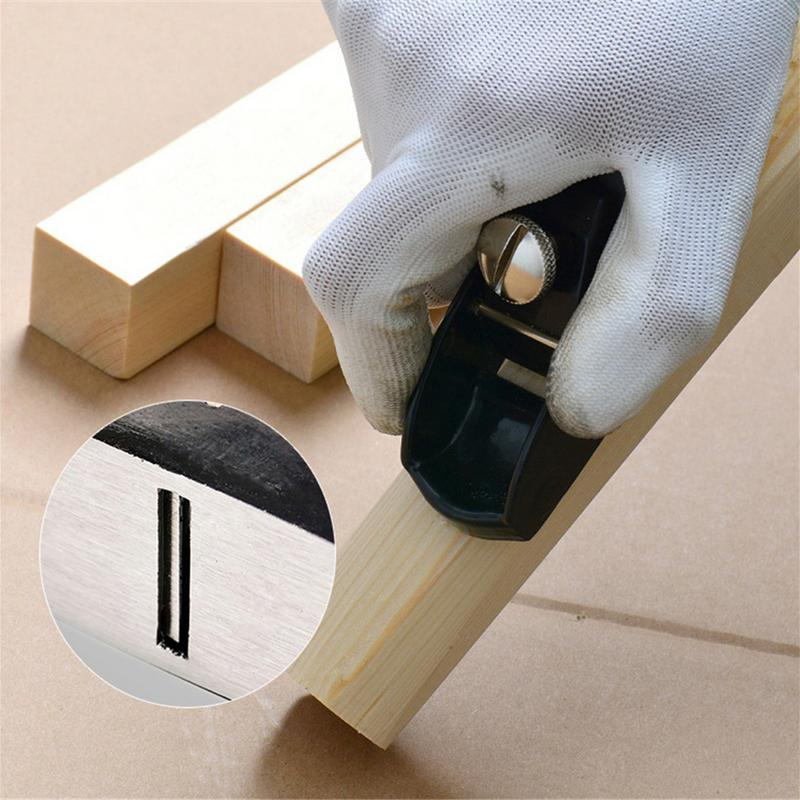 Mini Hand Push Cast Iron Black Woodworking Planer Hand Planing Double Wire Small Planer Discounts Price Wood Planers