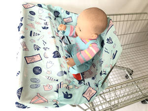 Cushion-Mat Cart-Cover Trolley-Cover/highchair-Cover Baby Shopping-Cart/grocery Toddler/kids