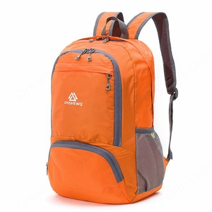 Image 4 - 折りたたみナイロン防水軽量登山バックパック女性男性屋外スポーツバッグサイクリングリュックサックハイキング旅行バッグ 20L