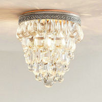 Modern Lustre Led Crystal Chandelier Lighting Industrial Style Design Lamp Shades Chandeliers for kitchen Living Room Bedroom