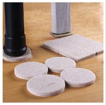 Móveis Pés de Espessura não-deslizamento luvas de Feltro mesa e cadeiras, almofadas de proteção do pé perna da cadeira de mesa luva protetora AU107