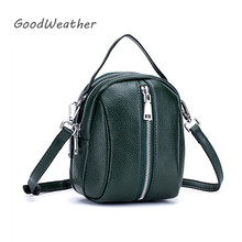 ファッションショルダーバッグ女性デザイナーミニ女性革ハンドバッグ高品質高級グリーンソフト本革ショルダーバッグ