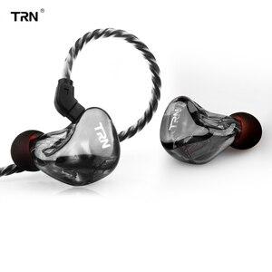 Image 1 - Yeni TRN X6 6BA sürücü birimi Kulak Kulaklık 6 Dengeli Armatür HIFI Monitör Sahne Spor Koşu Çözünürlük IEM Ayrılabilir 2Pin
