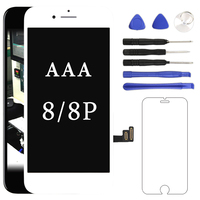 10pcs Excellent Quality For IPhone 6PLUS LCD Screen Assembly With Digitizer Free Shipping Camera Holder