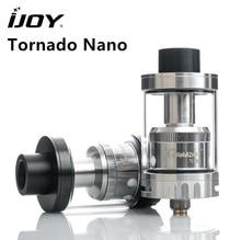 Оригинал IJOY Торнадо Nano RTA sub ом майка 4 мл atomzier с 18.6 мм два поста верхней палубе заполнения сигареты электронных сигарет VAPE