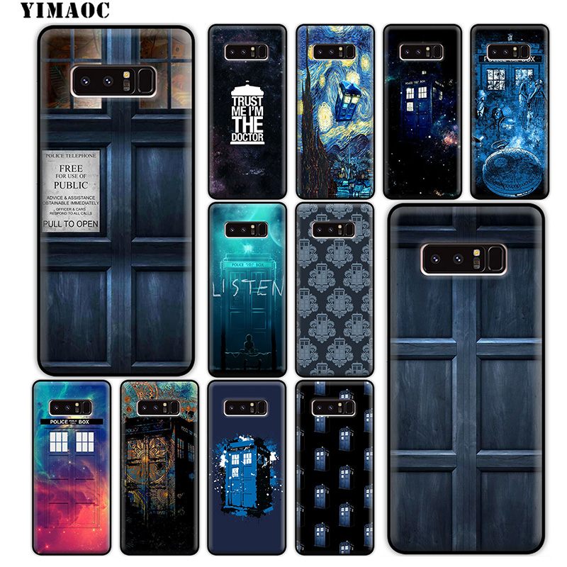 Fitted Cases Constructive Yimaoc Doctor Who Tv Soft Silicone Case For Samsung Galaxy Note 9 8 A9 A8 A6 Plus 2018 A5 A3 2017 2016 Cover Utmost In Convenience