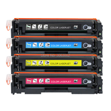 4x NON-OEM Toner Cartridge Compatible With HP 201 201A Color Laserjet Pro MFP M277 M277N M277DW M274N M252 CF400A-CF403A