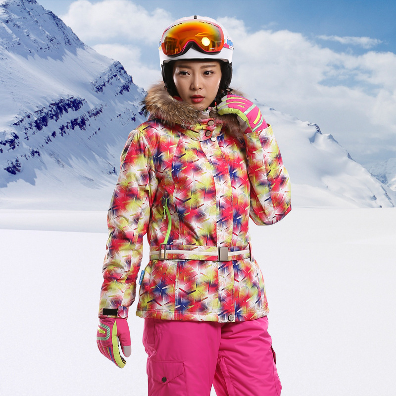 Brand Snow Ski Jacket Waterproof Windproof Thermal Snowboard Clothes Hiking Camping Jacket Winter Ski Jacket Women detector new waterproof windproof hiking camping outdoor jacket winter clothes outerwear ski snowboard jacket men