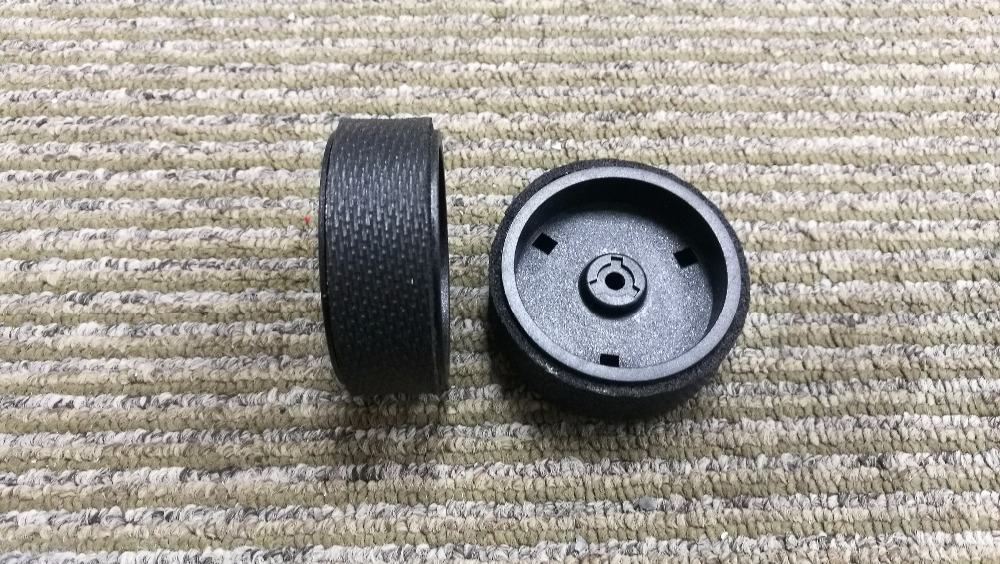 2pcs  Original Wheels Mint Plus 5200C Wheels for iRobot Braava 380T 320 321 Wheels mint planner