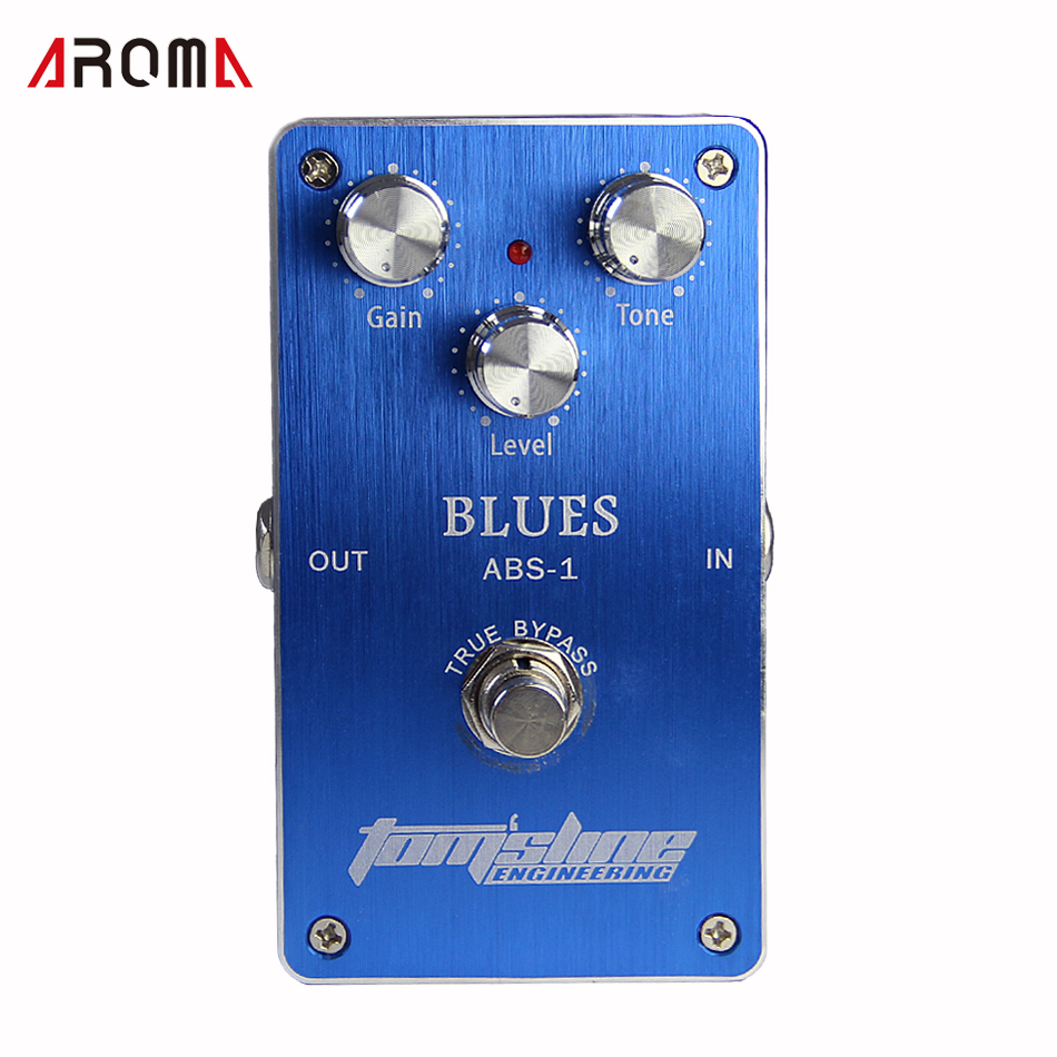 Free shipping!NEW Effect Pedal/ Aroma Premium Effect Pedal ABS-1 Blues Tube distortion simulation free shipping premium yaki merrylight