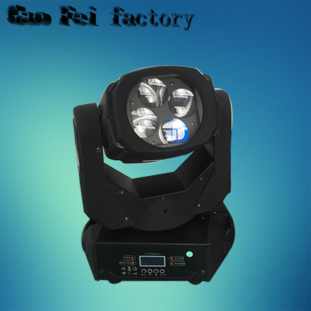 Super Beam 4x25W LED Moving Head Beam Light Bar Effect Led Stage Lighting Cree Led Lamp Super Bright Projector DJ Disco Lights chauvet dj beam bar