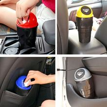 Mini Car Trash Can Garbage Bin Home Table Dust Case Storage Holder Styling 5 Colors