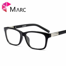 MARC WOMEN MEN Reading Optical Plain glass spectacles glasses Literature and art retro classic Plastic Leopard