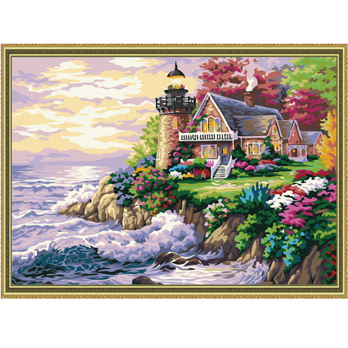 New arrival diy digital oil painting decorative painting landscape oil painting 40 50