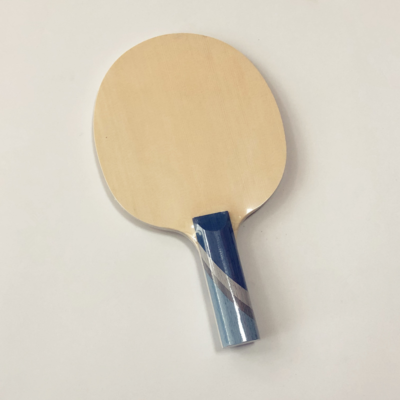 Lemuria 5 Ply Structure Table Tennis Bats Hinoki Face Wood With 2 Ply 3k Carbon Fiber Table Tennis Paddle