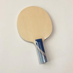 Lemuria Campione di 5 Strati di Struttura Racchetta da Tennis da Tavolo Hinoki in Legno Faccia con 2 Strati 3 K in Fibra di Carbonio da Ping Pong Paddle