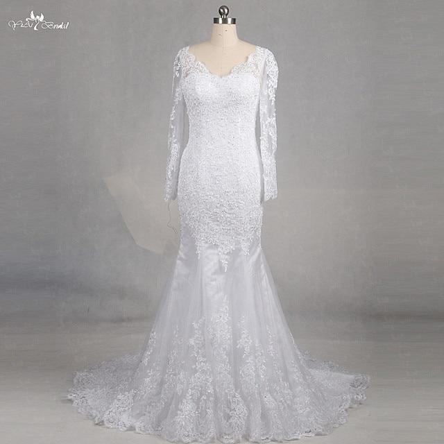 Rsw1177 Yiaibridal Real Job Photos V Neckline Bridal Dress Putri