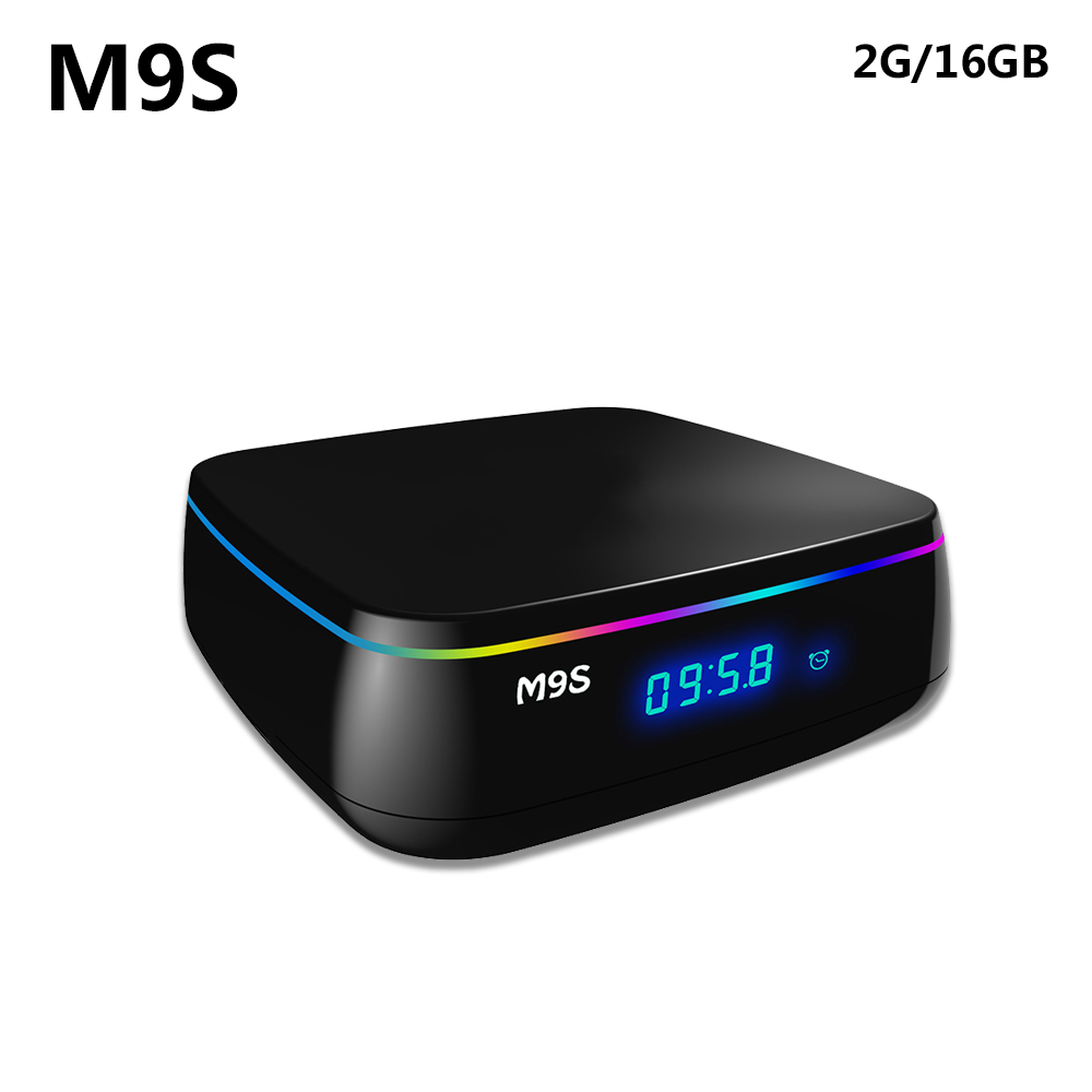 2017 M9S MIX TV Box Amlogic S912 2G RAM 16G ROM Octa Core Android 6.0 2.4G 5G Dual Band WiFi 3D Media Player 4K HD image