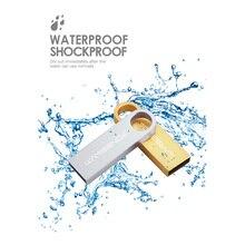 Wansenda Metal USB Flash Drive Mini Pen Drive 4GB 8GB 16GB 32GB 64GB pendrive USB 2.0 flash drive USB Stick Memory stick