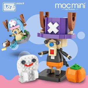 Лоз мини-блоки мультфильм олень пластиковые строительные блоки сборка экшн-фигурки Развивающие игрушки для детей японское аниме животные