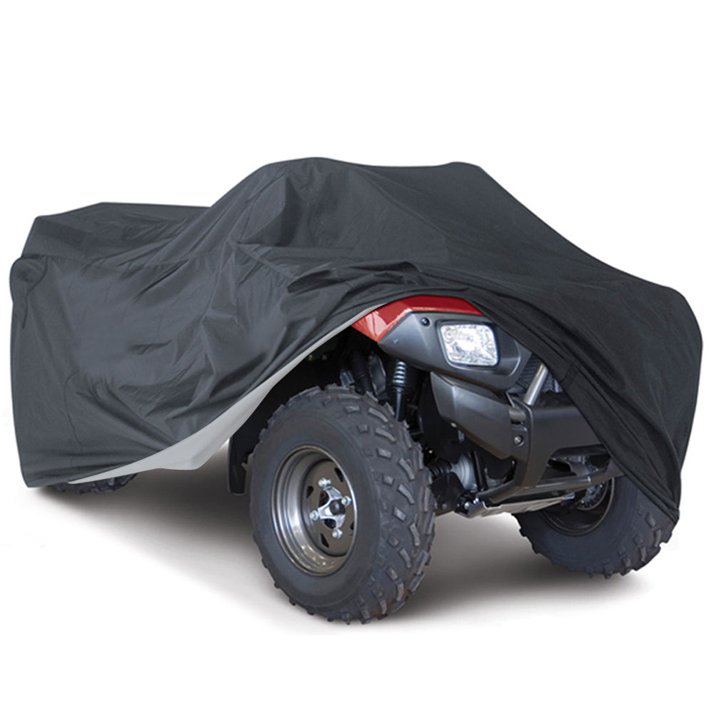Quad Bike ATV Cover Universal 190T Waterproof Motorcycle Vehicle Scooter Kart Motorbike Covers M L XL XXL XXXL Camouflage Black