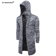 High quality 2017 mens new style brand long hooded cardigan sweaters fashion font b men s