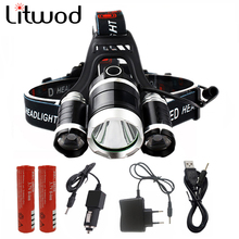 13000LM LED 3T6 Headlamp Headlight Head Lamp lighting Light Flashlight Torch Lantern Fishing 18650 battery Car USB AC Charger